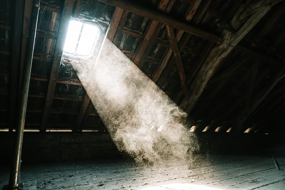 sunlight-shining-in-attic